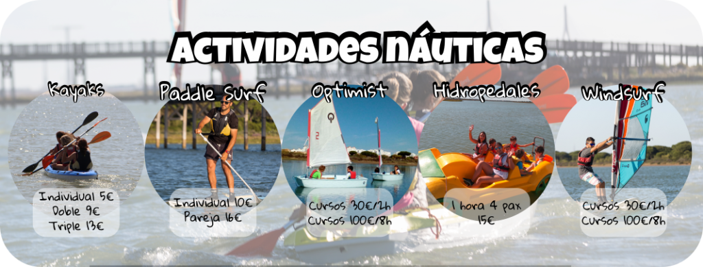 Actividades náuticas en El Puerto de Santa María
