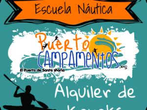 Alquiler de kayaks en El Puerto de Santa María