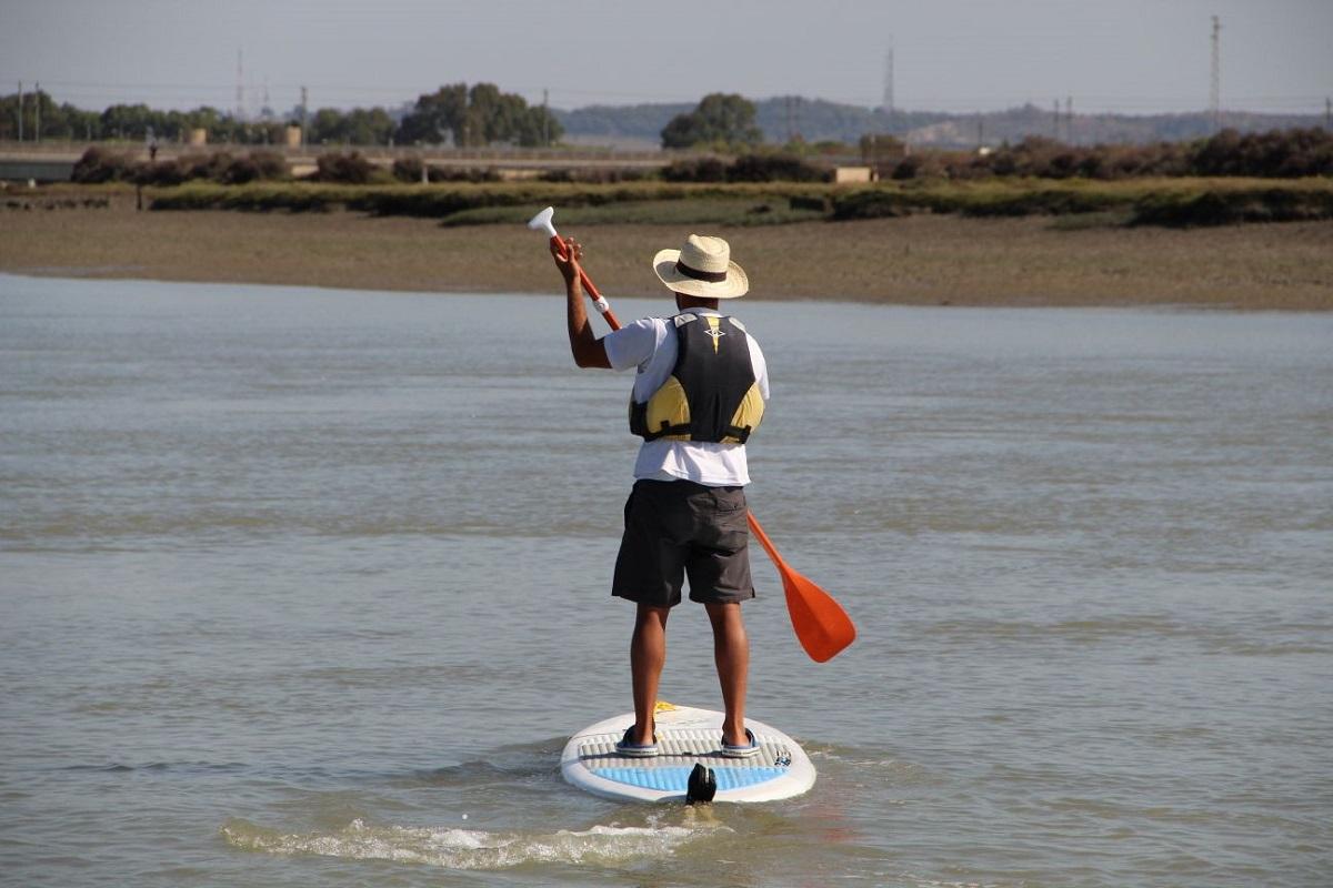 Rutas guiadas en Paddle Surf por el parque de los Toruños
