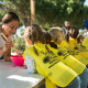Taller de pasta de sal en El Parque de los Toruños
