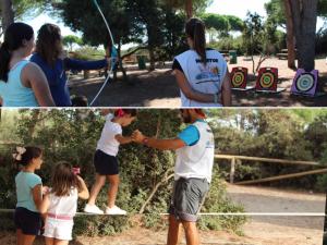 Taller de tiro con arco y equilibrio