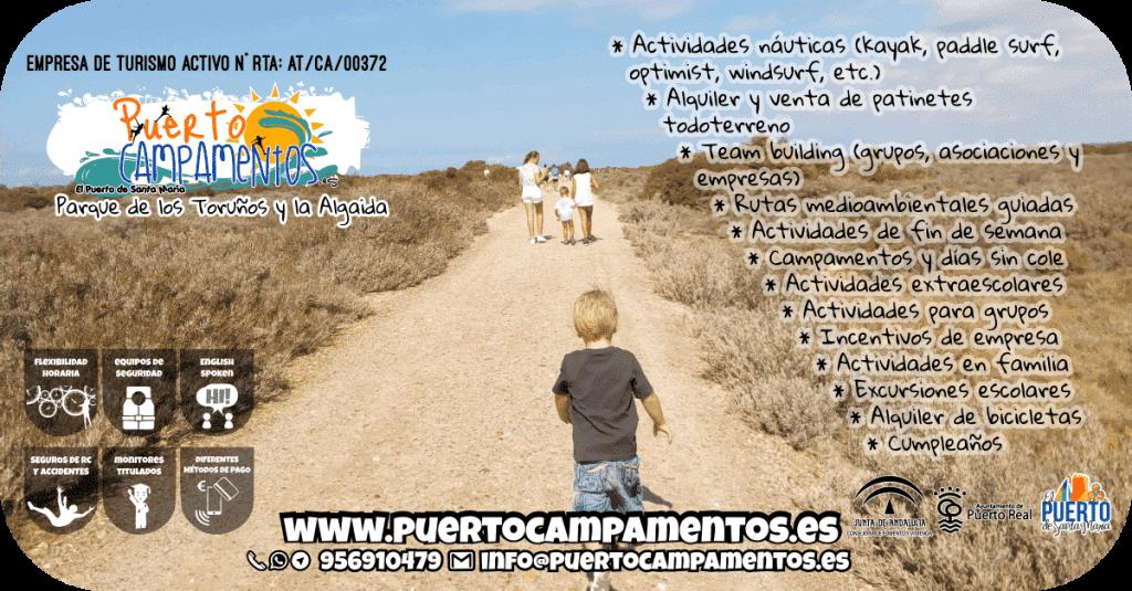 PuertoCampamentos - Empresa de Turismo Activo en El Puerto de Santa María