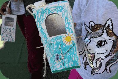 Taller de cajas nido en el parque de los Toruños