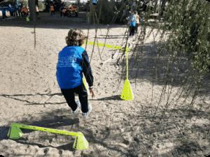 Torneos de gymkhanas deportivas en el Parque de los Toruños