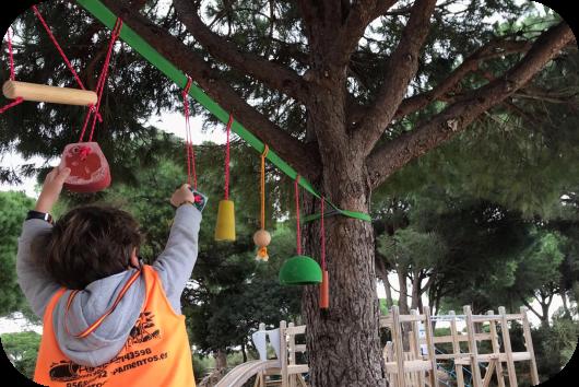 Taller de habilidad ninja en el Parque de los Toruños