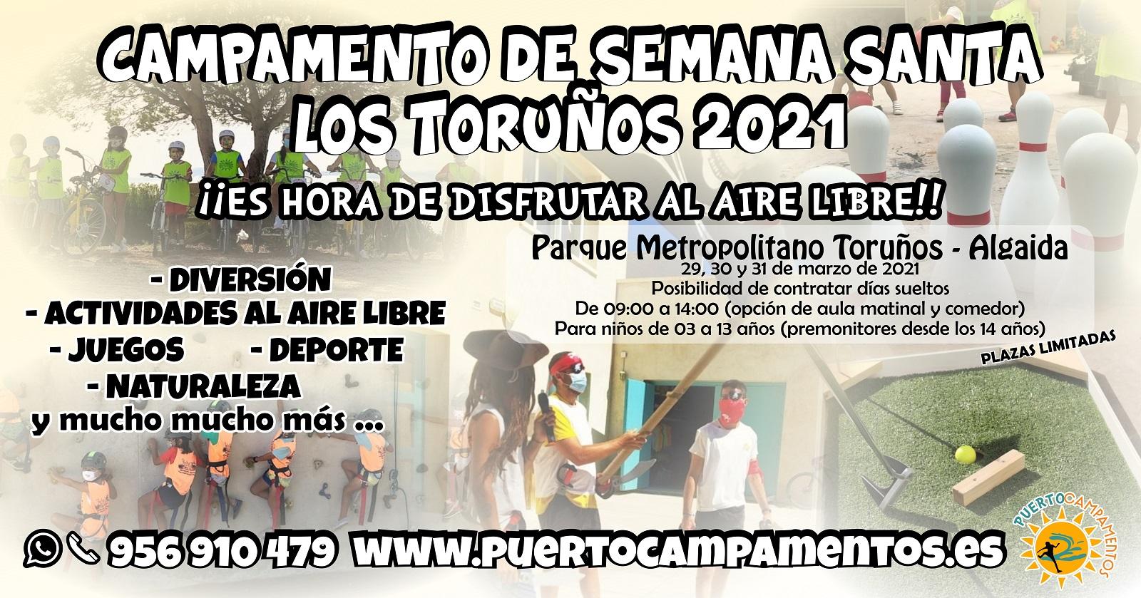 Campamento de semana santa 2021